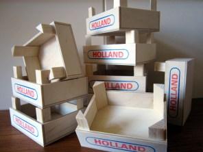 Illustratie: Holland kistjes voor diverse doeleinden