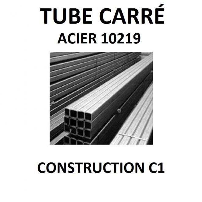 tube carre acier 10219 construction c1 barre fer www zabarno com