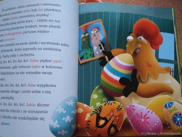 Kura Adela. Jak kura zniosła jajko..