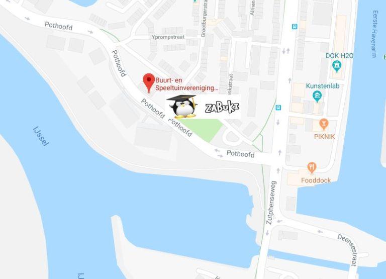 Klik op de kaart voor een routebeschrijving.