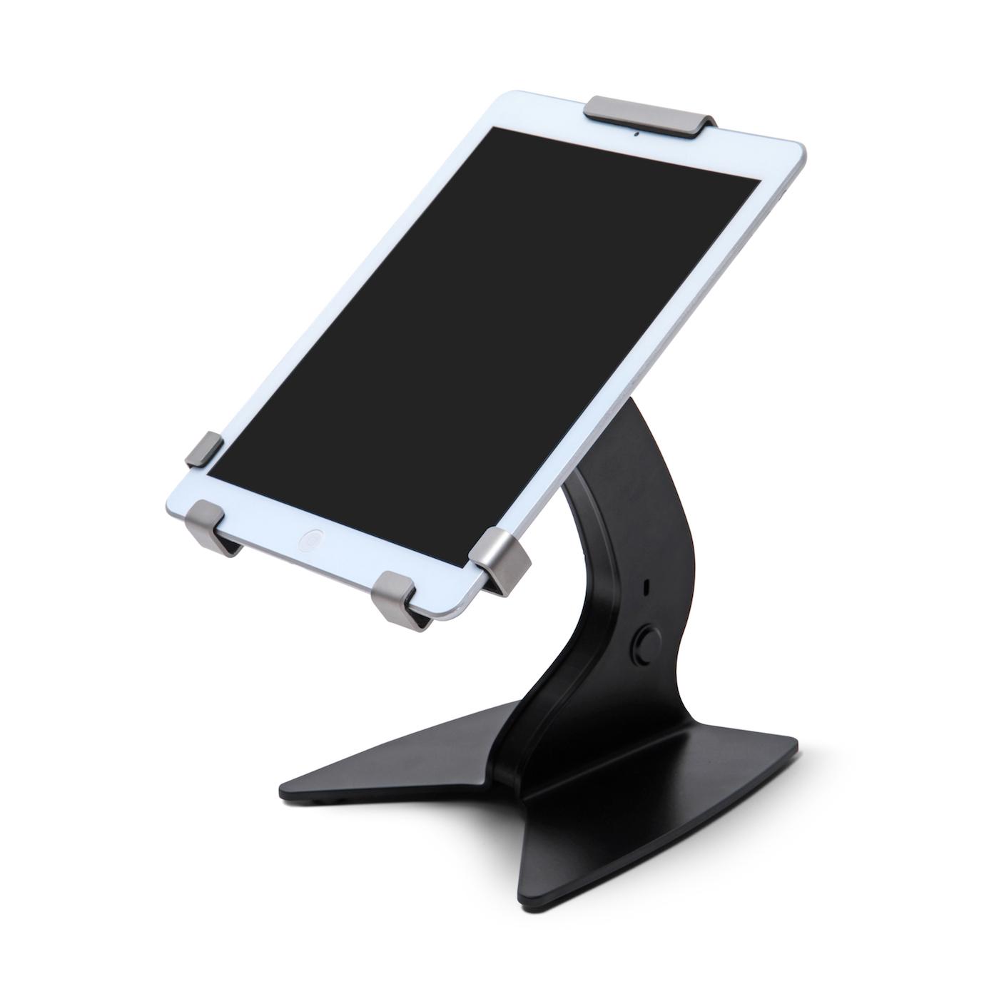 iPad Holder  Tablet Holder  Desk Stand  Black  13 inch