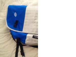 Blue and White Timbuk2
