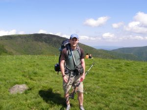 Backpacking at Roan Highlands
