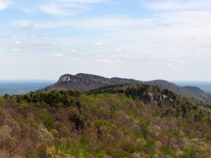 Hanging Rock and Wolf Rock