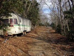 Old trailers on the Old Mitchell Toll Road