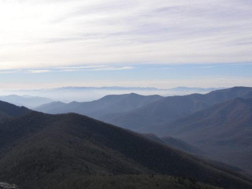 Southwest view from Pinnacle