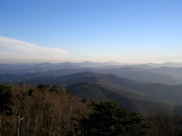 Southeast view from Walker's Knob