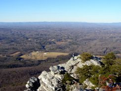 Northwest view from Moore's Knob