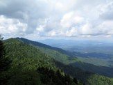 Northeast view from Winter Star Mountain of Roan Highlands