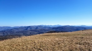 Southeast view of the Newfound Mountains from Max Patch