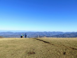 Appalachian Trail continues northeast along the Bald Mountains