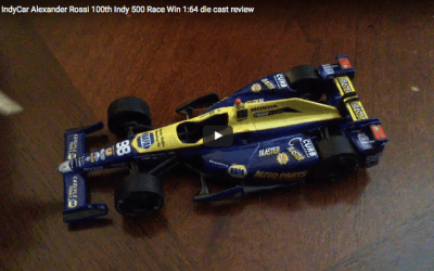 2016 IndyCar Alexander Rossi 100th Indy 500 Race Win 1:64 die cast review