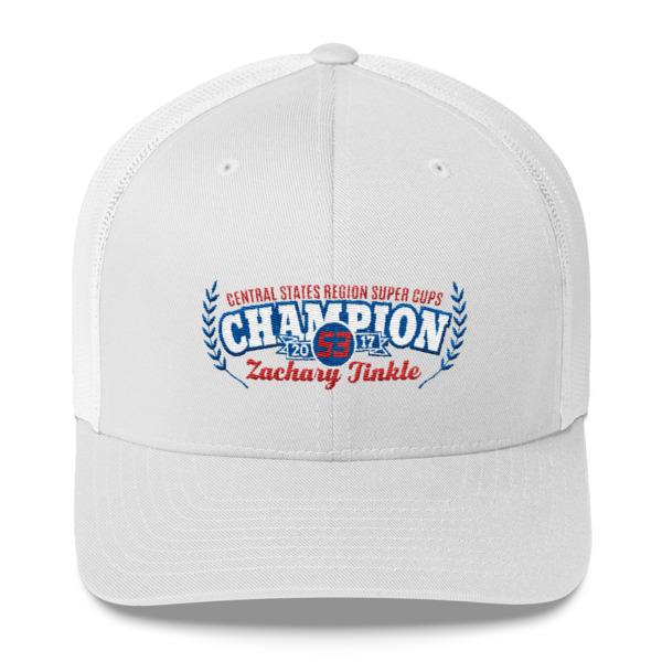 c23366537bc 2017 CSR Super Cup Championship Baseball Cap - Zachary Tinkle