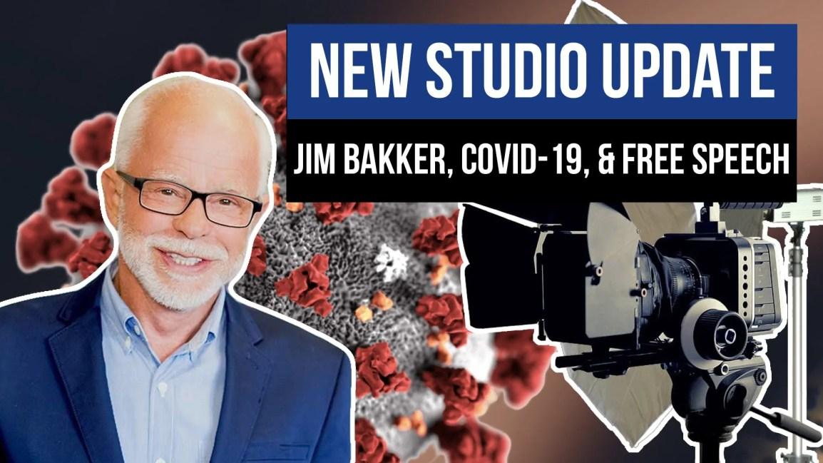 New Studio Update, Jim Bakker, Covid-19, & Free Speech - Zach Drew Show
