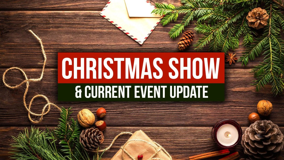 Christmas Show & Current Event Update! - Zach Drew Show