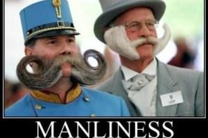 manliness man beard