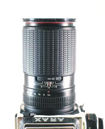 Arsat 250mm f/5.6 lens