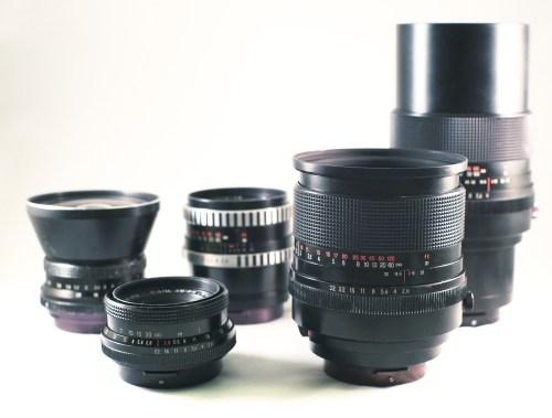 Carl Zeiss Jena P6 Lenses