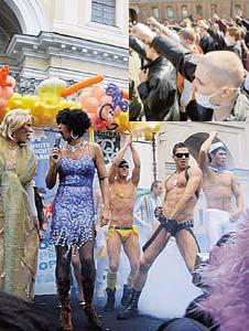 Зачистив город от фашистских отморозков, власти Петербурга наконец спокойно провели гей-парад.