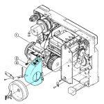 Fan Duct for Elmo 16-CL 16mm Projector