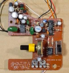fisher price 816 circuit board  [ 1200 x 1200 Pixel ]