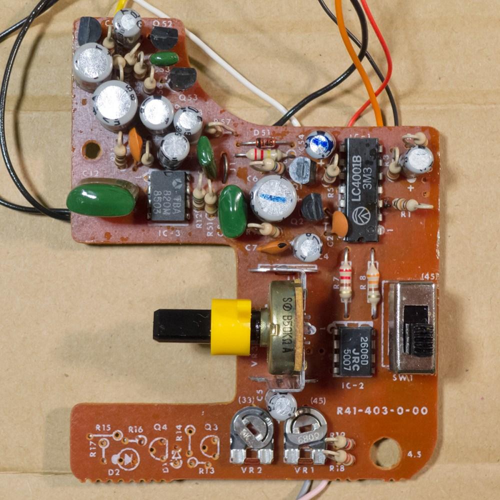 medium resolution of fisher price 816 circuit board