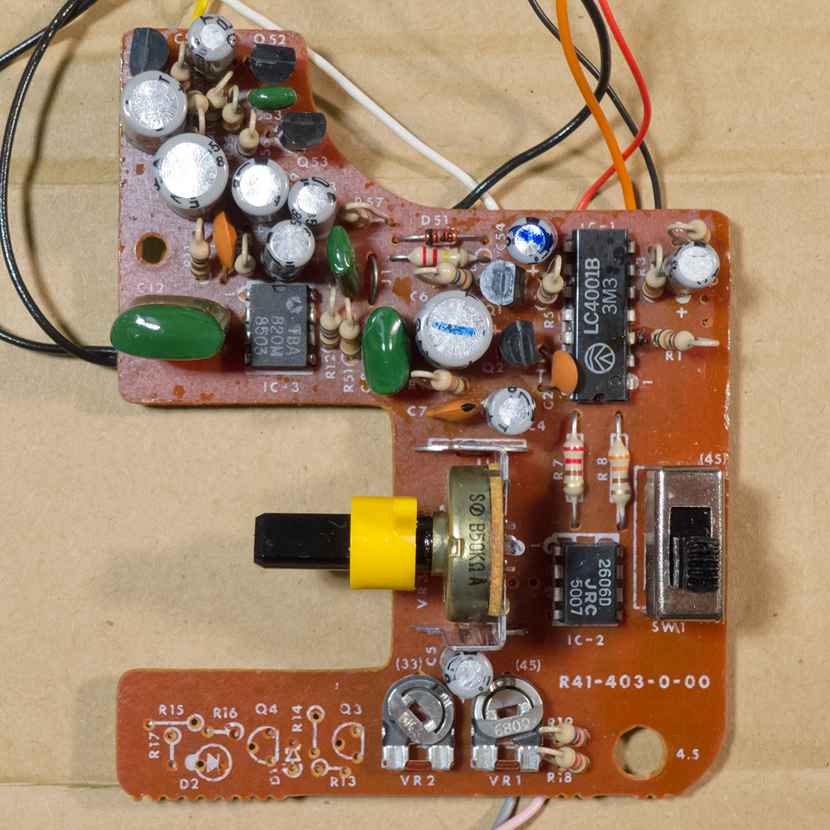 hight resolution of fisher price 816 circuit board