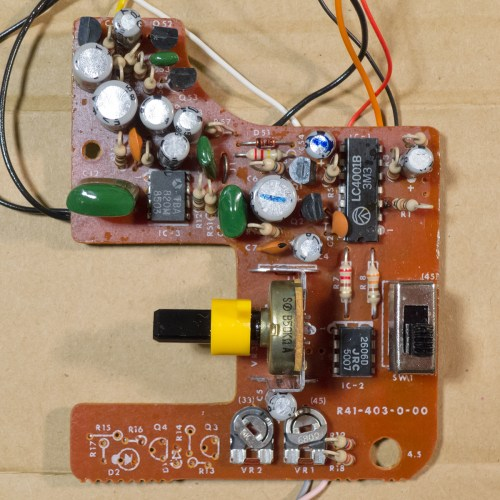 small resolution of fisher price 816 circuit board