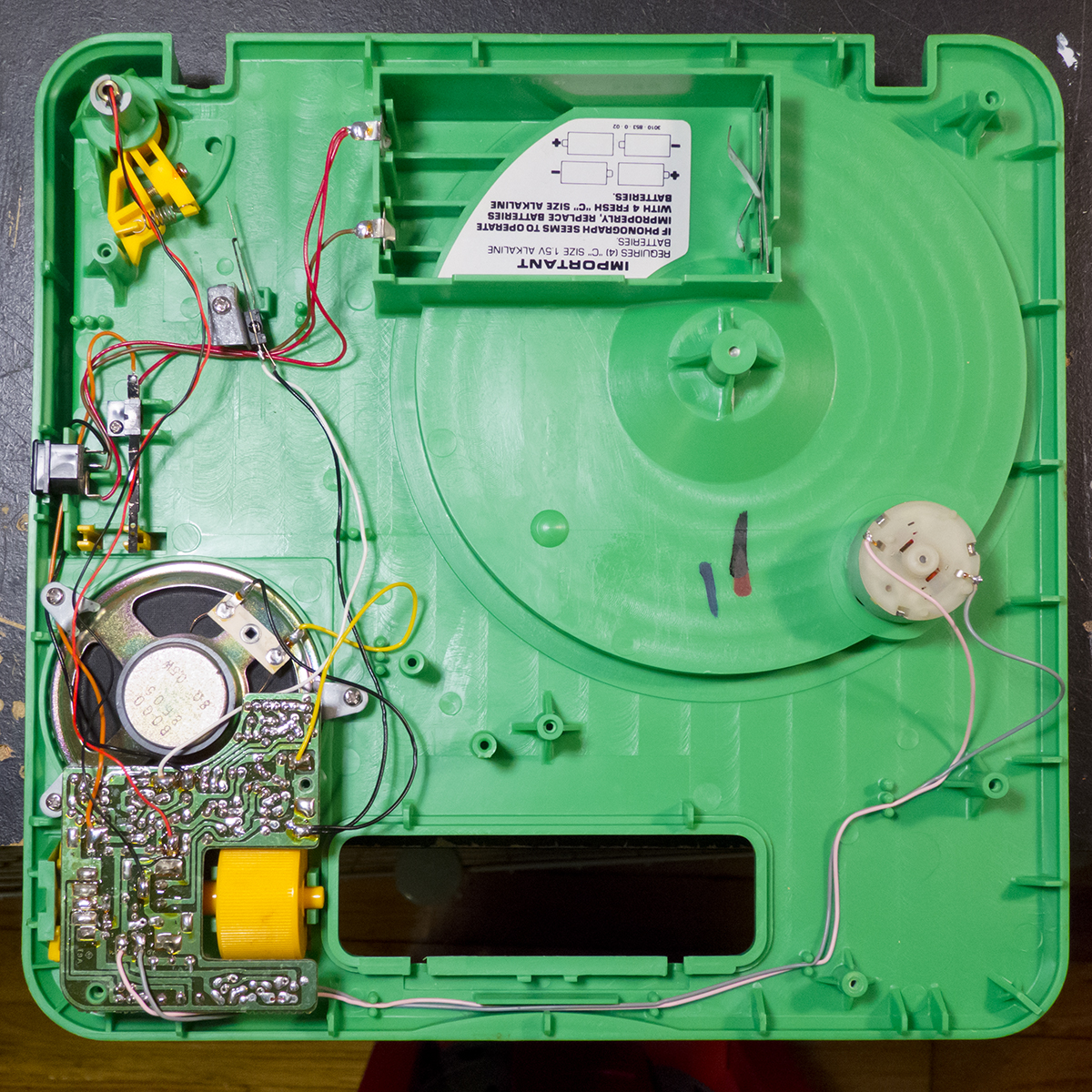 hight resolution of fisher price 816 circuit board fisher price 816 inside bottom