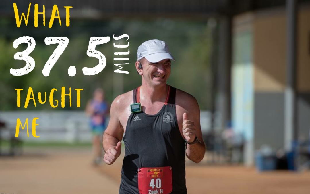 What 37.5 miles taught me