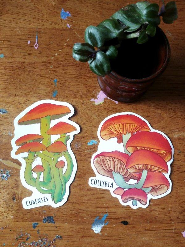 Mushroom Stickers