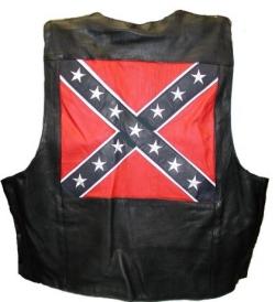 Confederate Flag Vest XXS  2X  MC6080