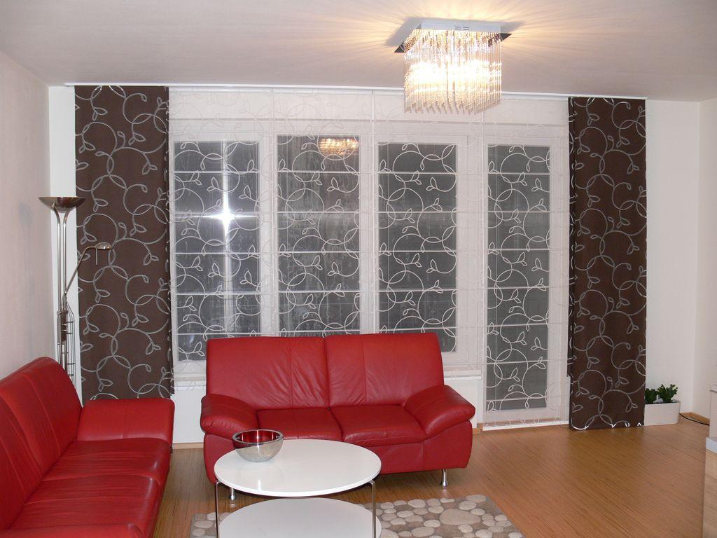 Gardinen Im Wohnzimmer Design Und Formen - Boisholz Gardinen Fur Wohnzimmer Grose Fenster