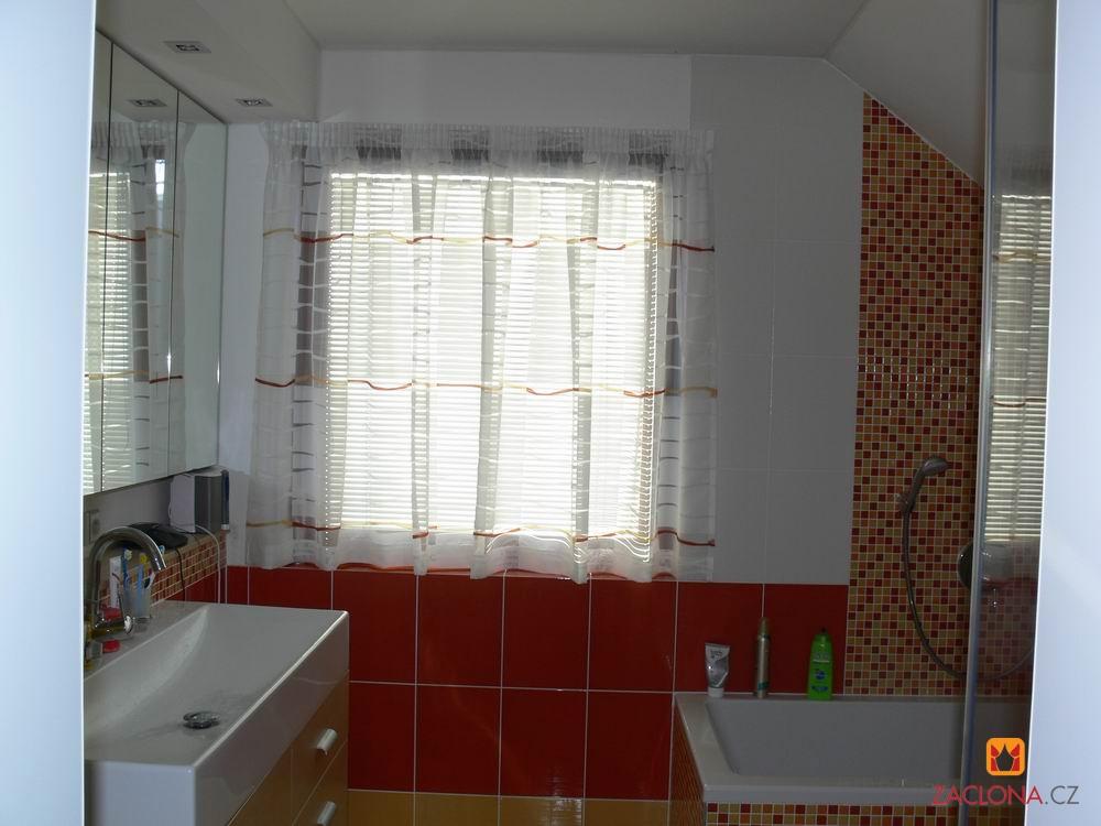 Die Gardine fr das moderne Badezimmer  Heimtex Ideen