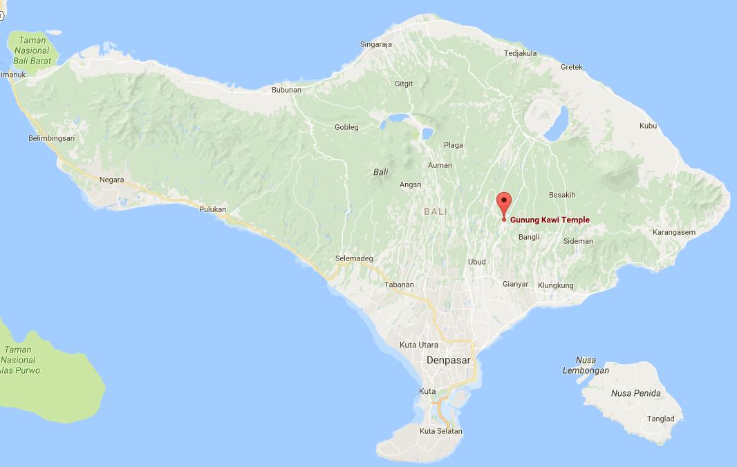 bali gunung kawi