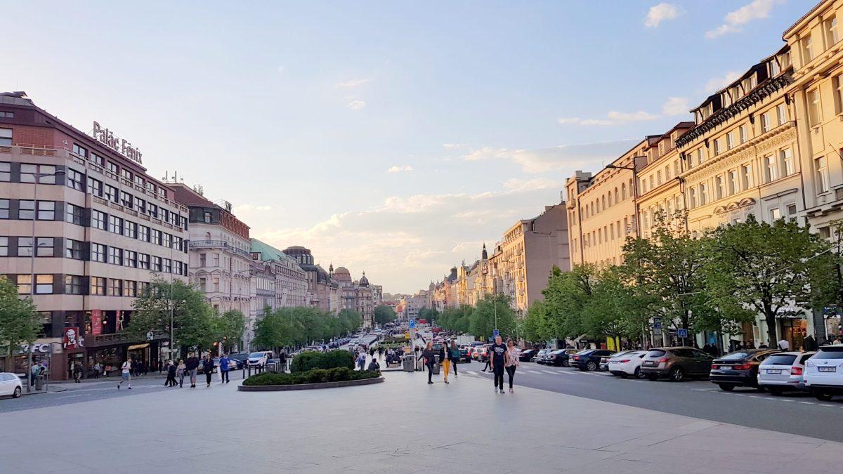 plac wacława praga