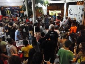 Sarau da Cooperifa. Cultura, diversão, protesto e sentimentos em S. Paulo.