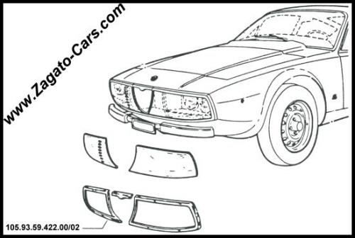 Alfa Romeo Junior Zagato 1600 3060030