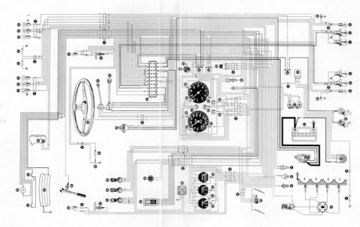 wiring diagram for alfa romeo gt  wire harness bundle