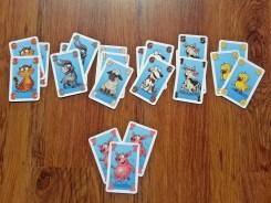 Chrum, chrum! - karty