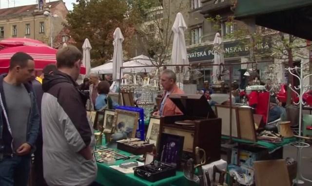 British square market