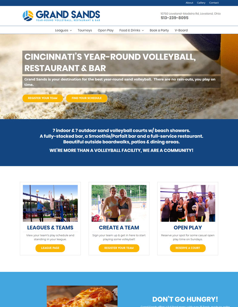Grand Sands Volleyball Zagrun Digital Marketing