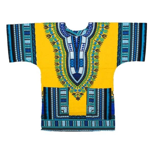 Dashiki Yellow Shirt