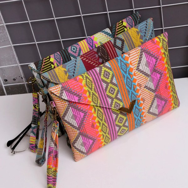 Women's African Inspired Clutch (Assorted colors)