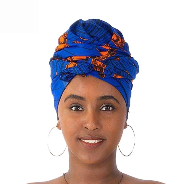 Ankara Headwraps (Blue)
