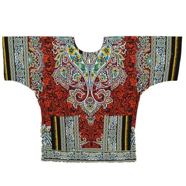 New Dashiki Shirt Leaves