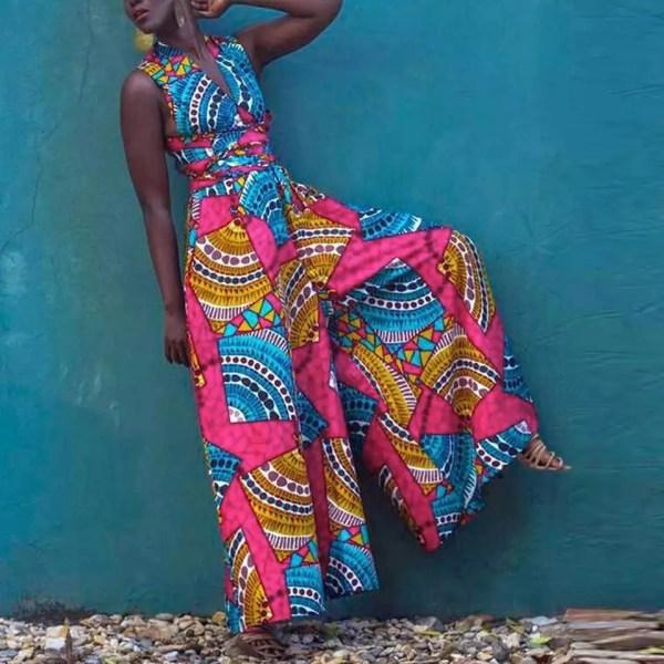 Zola- African Jumpsuit