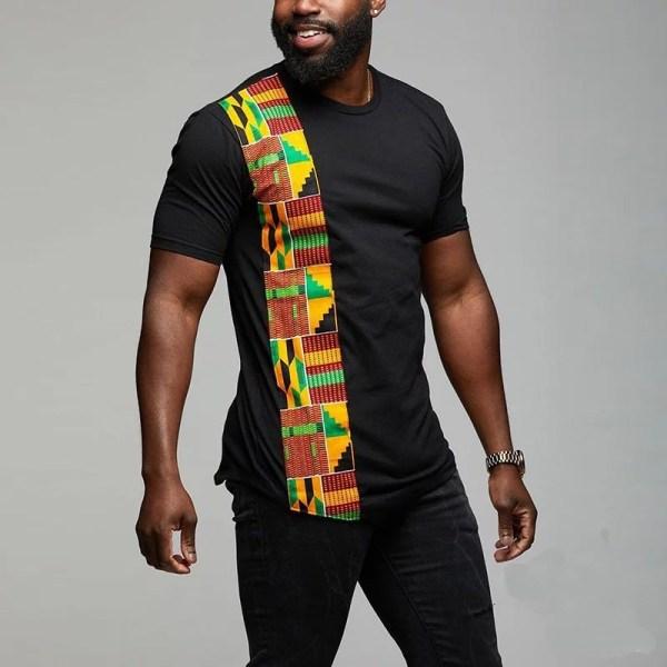 Kente African T Shirt