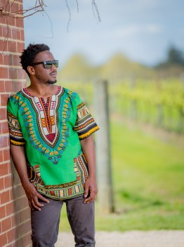 Dashiki Shirt (Green)