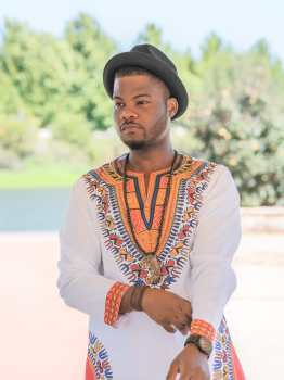 Dashiki Men's Shirt Long Sleeve